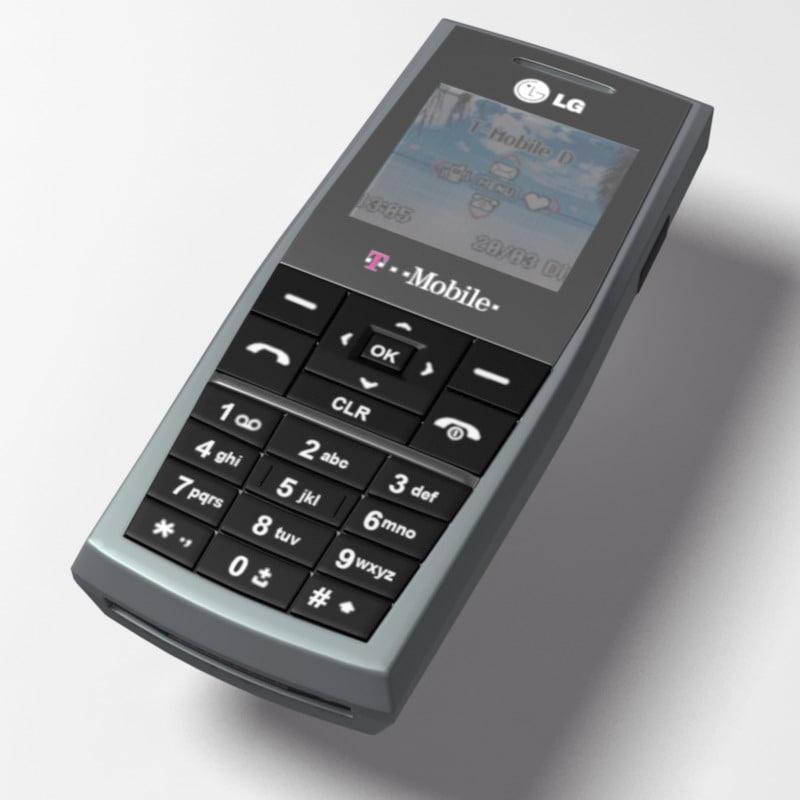 lg kg 130 3d model