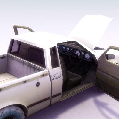 4x4 pickup truck 3d model