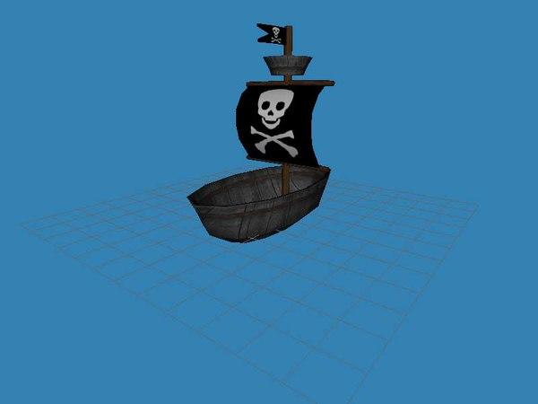 free ship 3d model