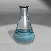 beaker liquid 3d lwo