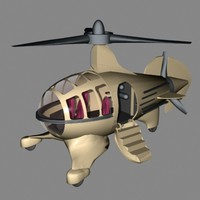 autogyro film things 3d max