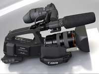 canon video camera mapped lwo