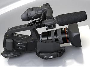 canon video camera mapped lwo
