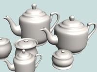 01 Tea Pot Set 01