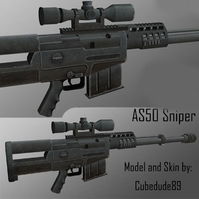 as50 sniper rifle obj