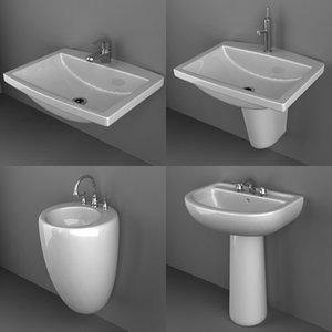 sink basin 3d model