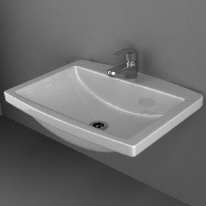 sink basin 3d 3ds