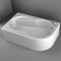 bathtub 3d 3ds