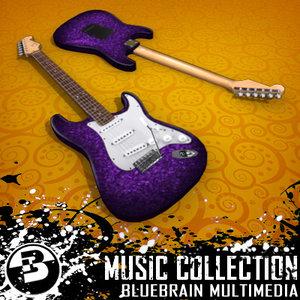 maya electric guitar
