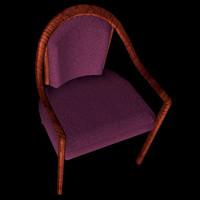 modern dining chair pzchair 3d pz3