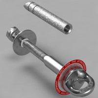 EN795 safety anchor eyebolt