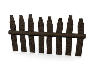 3d model fence
