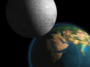 earth moon 3d 3ds