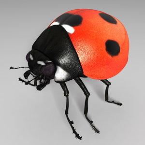ladybug bump 3d model