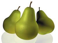 cinema4d fruit pear