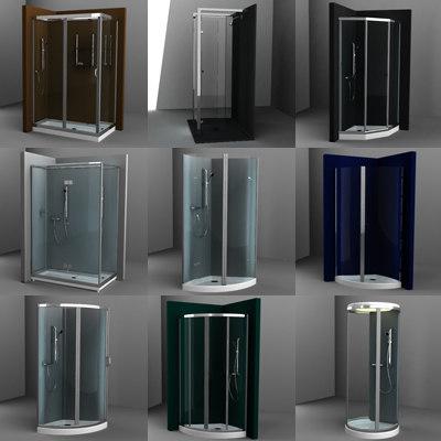 3d model showers