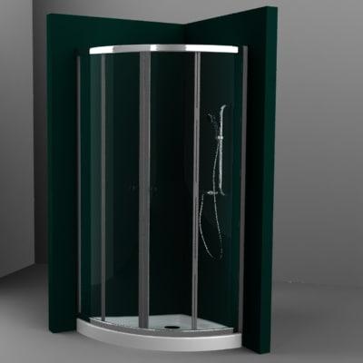 3d 3ds shower