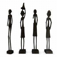 statuettes african 3d 3ds