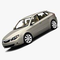 2008 subaru impreza 5-door max