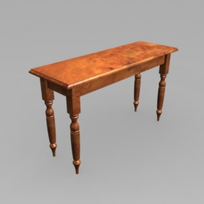 3ds traditional table
