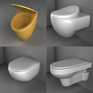 3d bathroom basin model