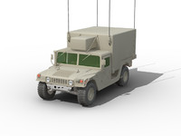 3ds max command hummer military
