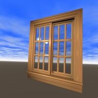 3ds max nicely interior window
