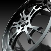 3d wheel s rim