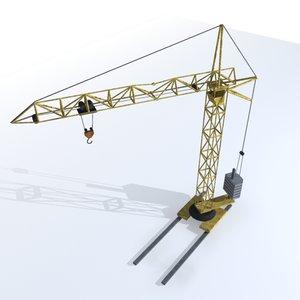 3d simple crane