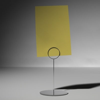 free place card holder 3d model