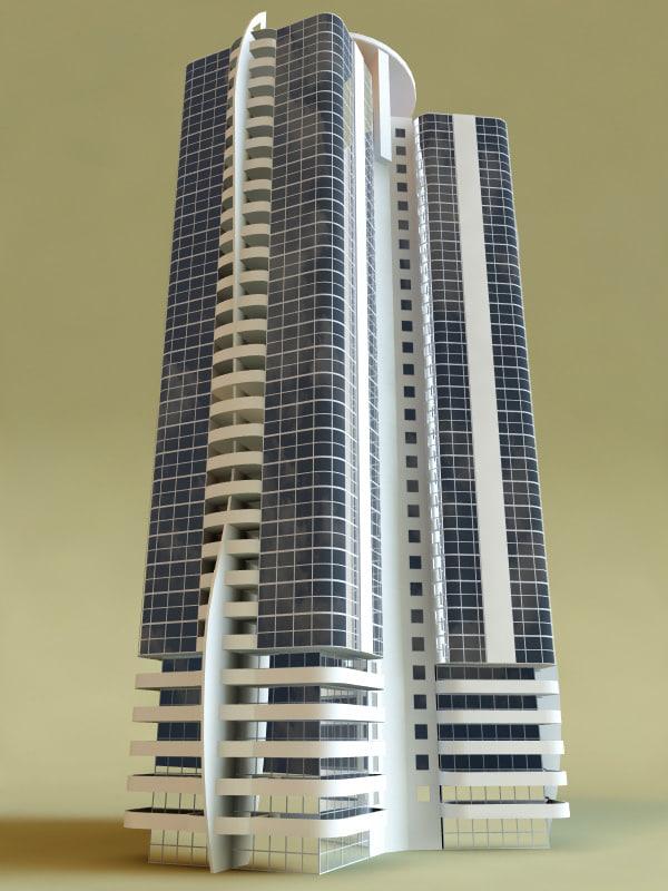 3ds max building v1
