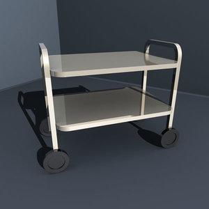 3d model cart lab