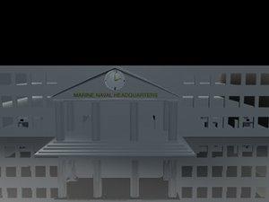 free military 3d model