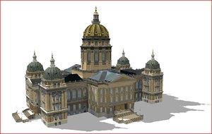 capital building 3d max