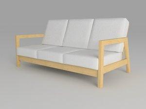 3d sofa lillberg model
