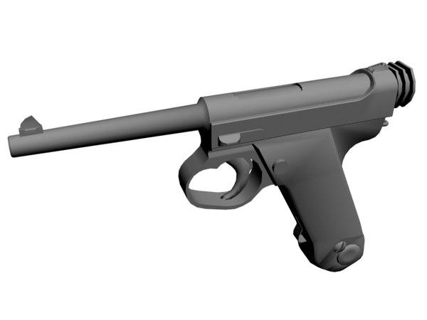 3d nambu pistol