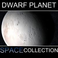 3d dwarf planet orcus