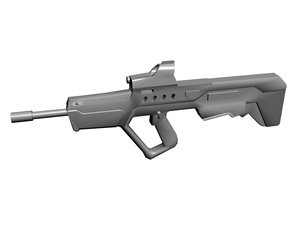 3ds imi tavor tar-21 assault rifle