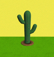 Cactus (low poly)