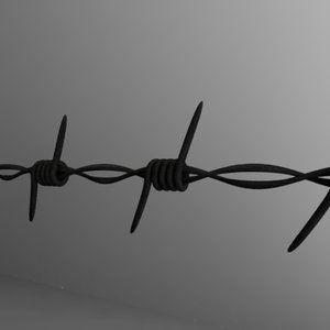 3ds barbed wire