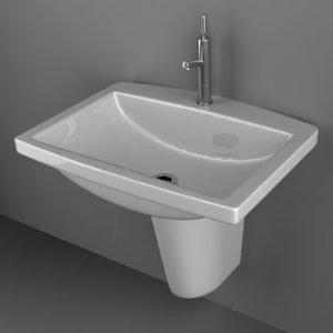 3d model sink basin