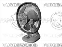 3d model electronic fan