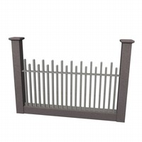 fence 3d model