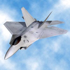 modern military jet fighter pz3