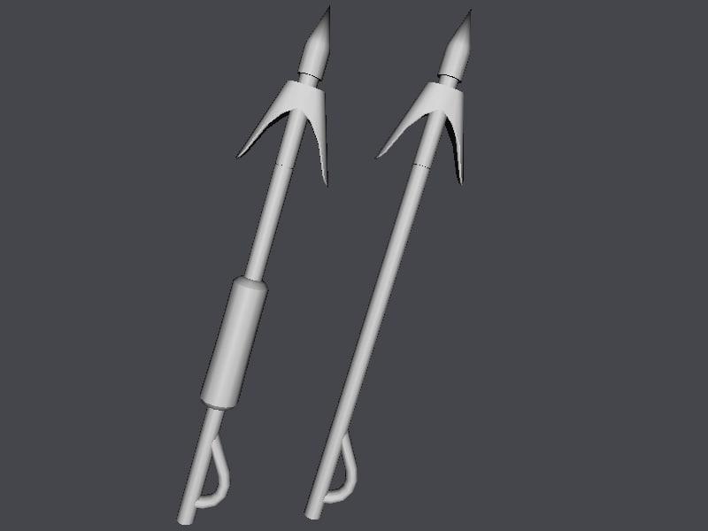 3ds max harpoon