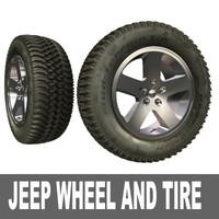 jeep wheel tire 3d max
