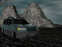 3ds max suv car
