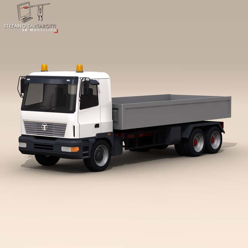 3ds max deck truck