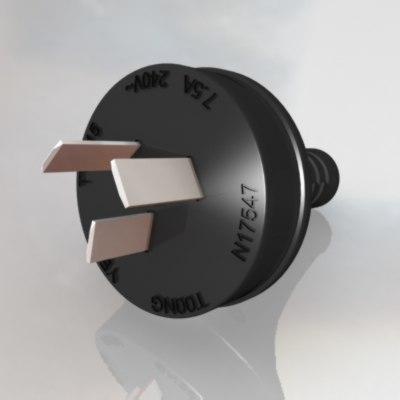 3d power plug