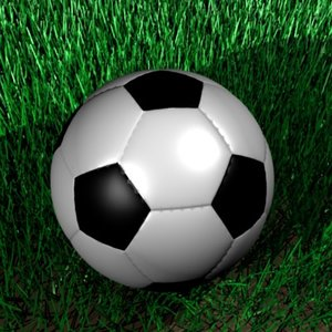 realistic soccer ball soccerballs 3d model